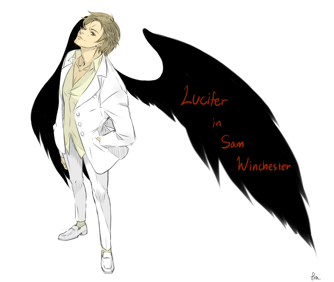 Lucifer Gabriel: Lucifer In Sam Winchester By Pra88 On DeviantArt