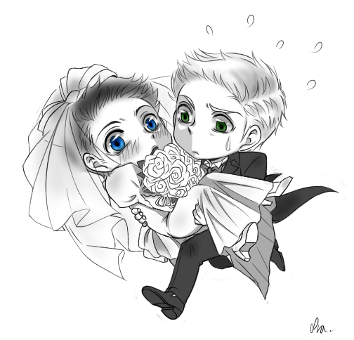Mr. and Mrs. Winchester by Pra88