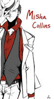 Misha Collins by Pra88