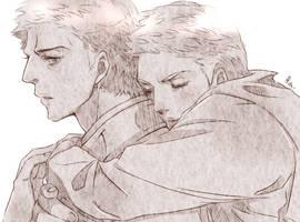 Back hug by Pra88