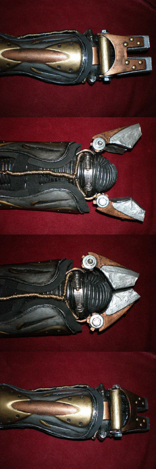 Steampunk Prosthetic Arm by VampSavat