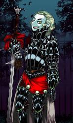 The Vampire Knightess. by Falseidon