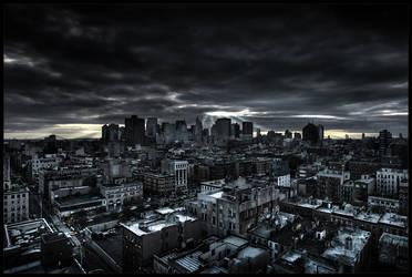 Dark City by p0m