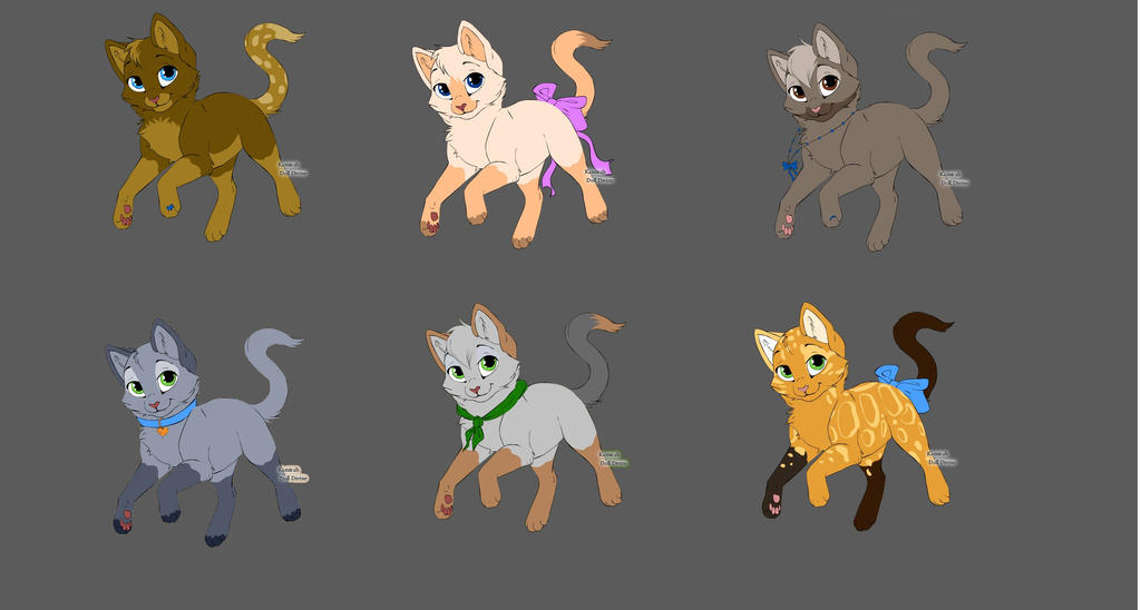 Adopt Cats by lamakot