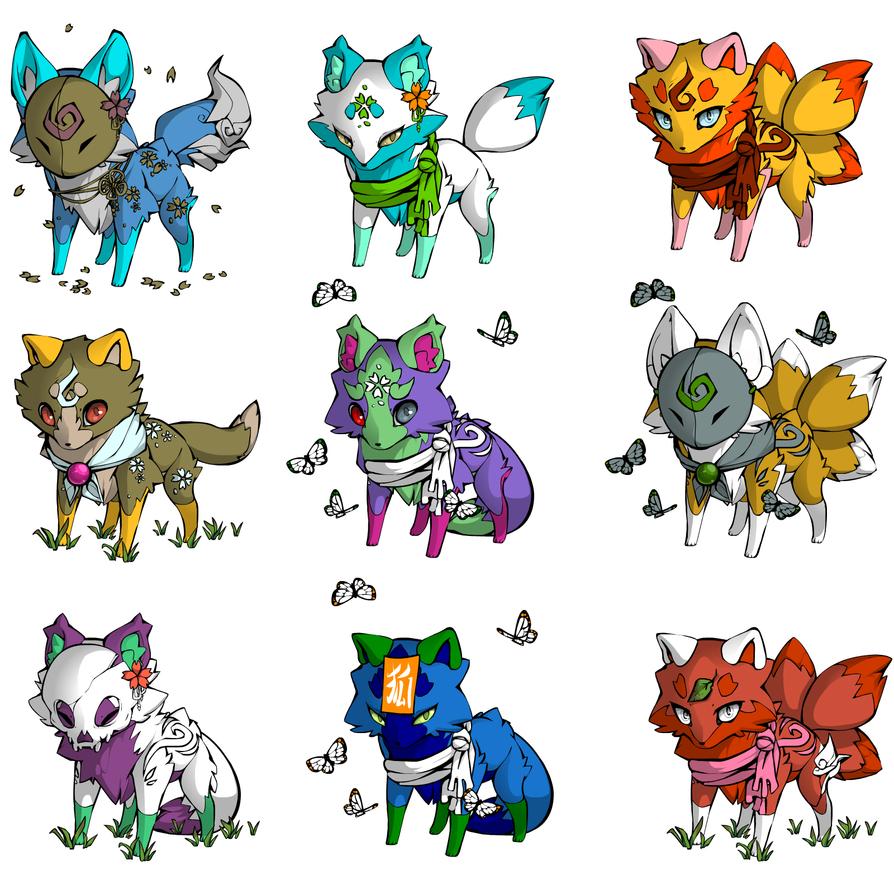 Fox adopt(5/9 OPEN) by lamakot