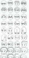 Manga Hairstyles Guide