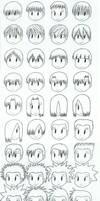 Manga Hairstyles Guide
