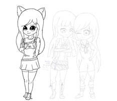 Three Friends WIP (1) by GalaxyCalotype