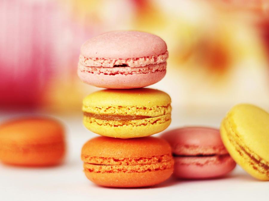 vivid macarons by st3rn1