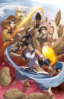 The Legend of Korra by MikeLuckas
