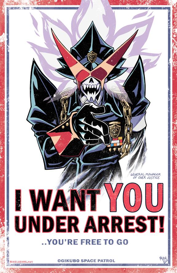 YOU'RE UNDER ARREST-!! by MikeLuckas