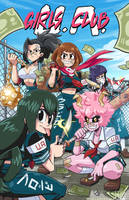 Class 1-A girls club by MikeLuckas