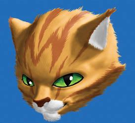 Smiling cat by arkheron