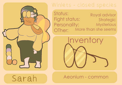 Winlets-Sarah-Referance sheet