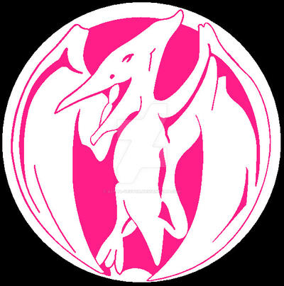 Zyuranger ptera symbol by alpha vector