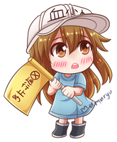 Platelet from Cells at Work!
