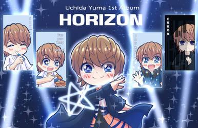 Uchida Yuma 1st Album -HORIZON-