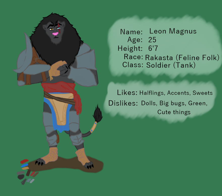 DnD Character by 4nonny4
