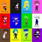 My anime ocs