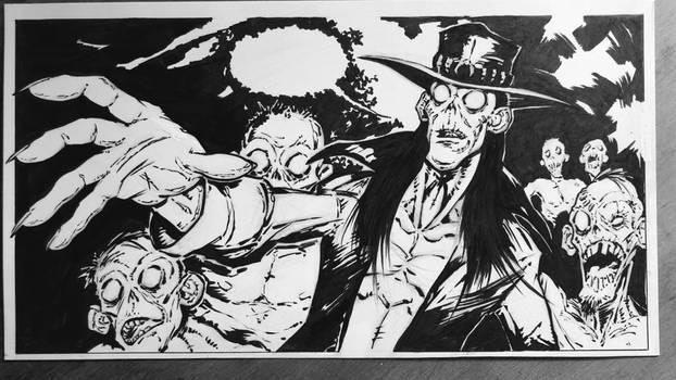 Zombie Western Ink