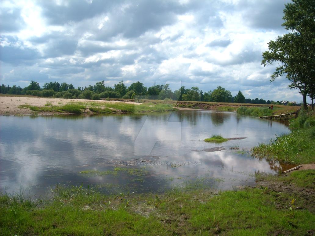 Bolshaia Kaksha river by Conturi-Hakudoushi