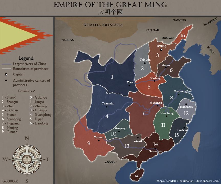 Ming Empire by Conturi-Hakudoushi