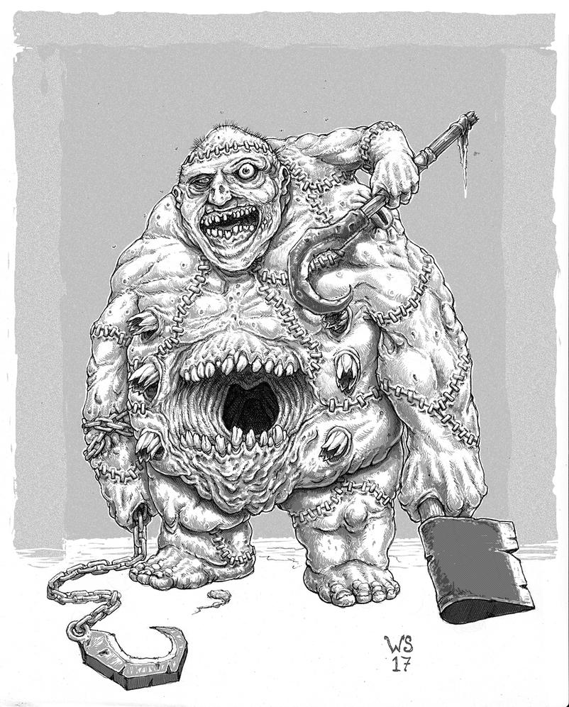 World of Warcraft Abomination by TheWhiteSarcophagus