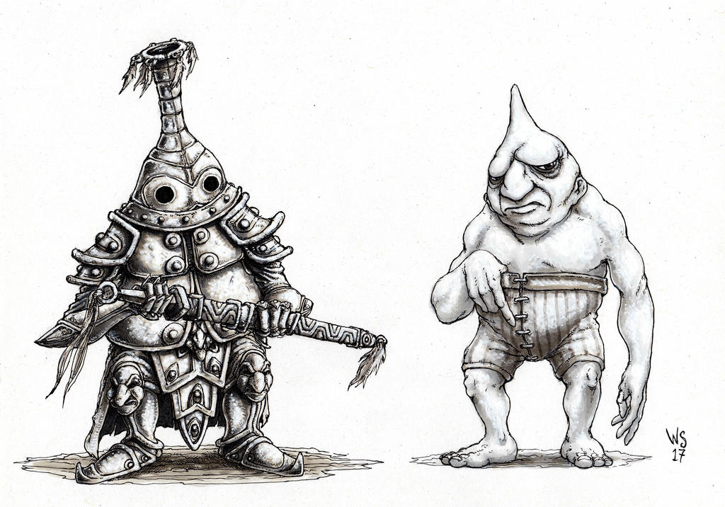Bowlttle Knight by TheWhiteSarcophagus