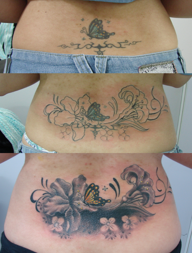 Tattoo cover up. by ~LagartoTattoo on deviantART
