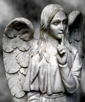 Cemetery Angel by AshenSorrow