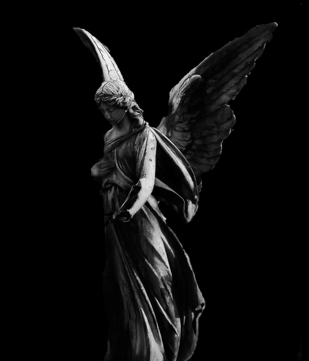 Sad angel stock by ashensorrow on deviantart - Sad angel wallpaper ...