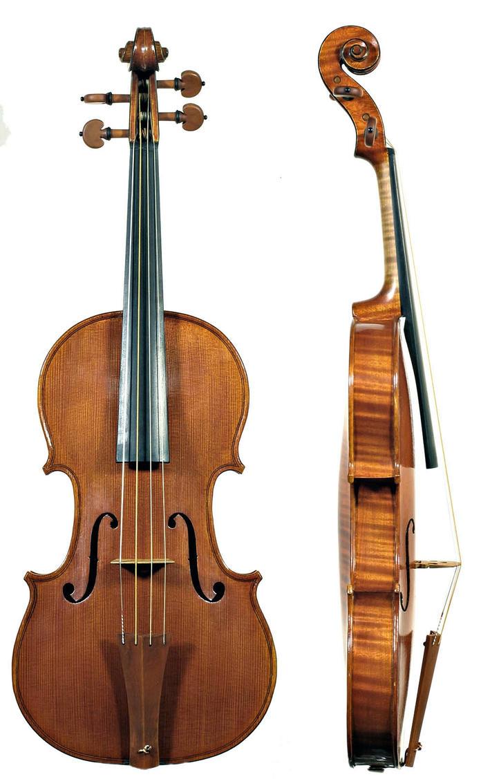 Violin by AshenSorrow