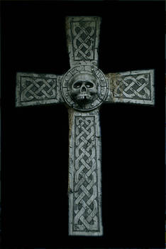Celtic Skull Cross