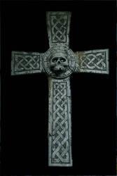 Celtic Skull Cross by AshenSorrow