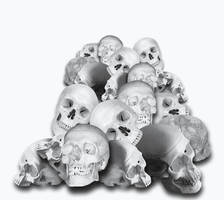 Pile Of Skulls by AshenSorrow