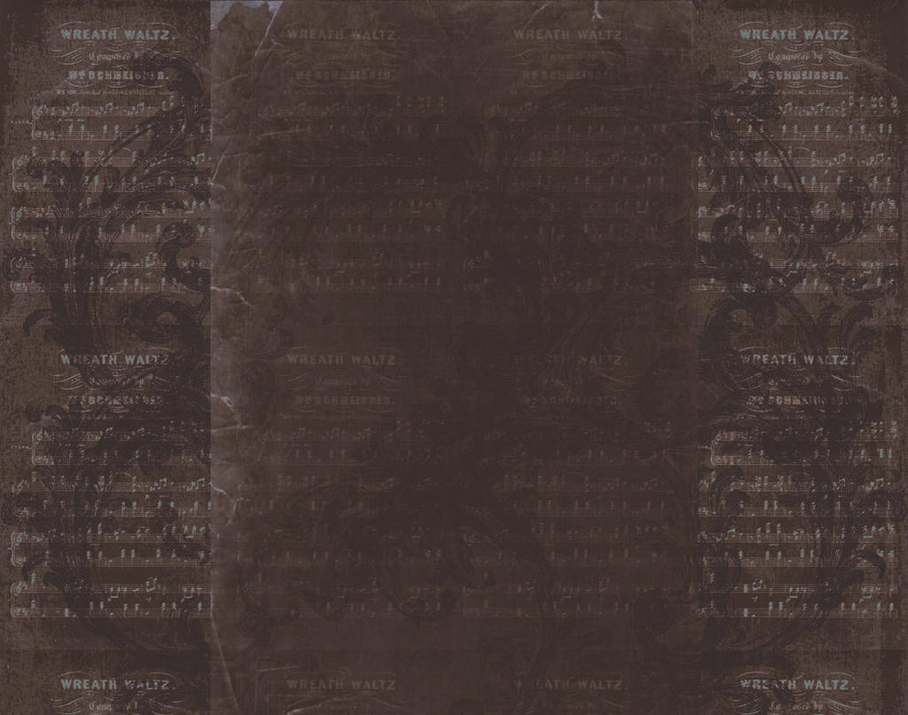 Vintage Sheet Music Texture