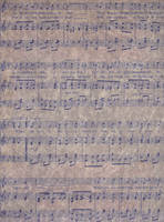 Music Sheet Texture by AshenSorrow