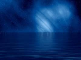 Northern Lights II by AshenSorrow