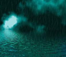 Rainy Seas II by AshenSorrow