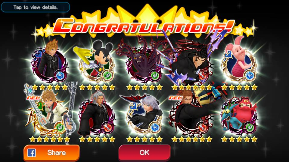 kingdom hearts x unchained pull by lunathefoxforever