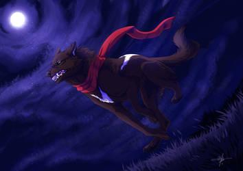 YCH - Ree's Night by MayhWolf