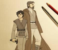 Star Wars - Past by MayhWolf