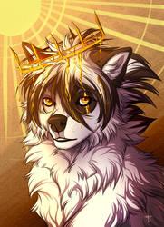 Golden Crown by MayhWolf
