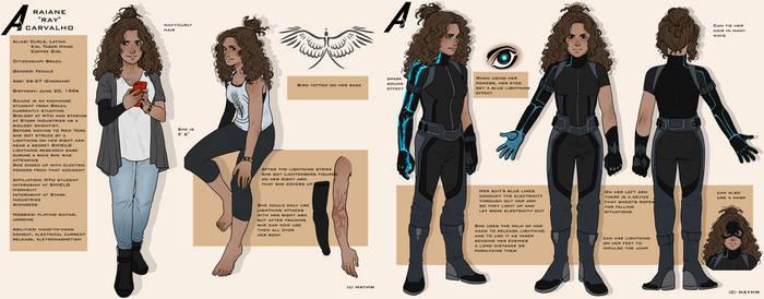 Ray Carvalho - MCU Marvel Reference
