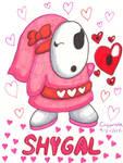 Pink Shy Gal