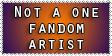 Stamp: Not committing to one fandom by Cpr-Covet