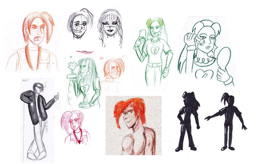 Old CC drawings by Cpr-Covet