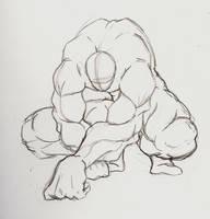 foreshortening anatomy study by Sachmoe64