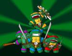 TeenyTiny Mutant Ninja Turtles
