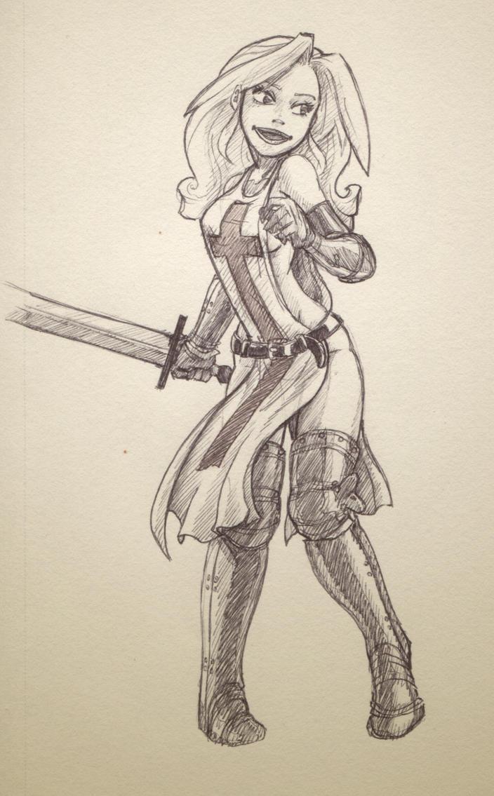 Crusaderette by Sachmoe64